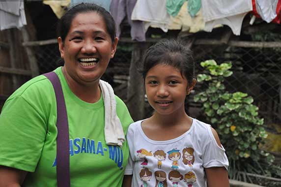 Having used a loan of Php.15,000 (A$374) to start a successful piggery, Shirly (pictured) has become a community leader in her hometown of Aurora in the Philippines. To help her neighbours, Shirly is providing scholarships to poor children in her community as well as giving piglets to families in need, helping them start their own small businesses, too.   By giving mothers like Shirly a hand up out of poverty through small loans, you can help transform whole communities.